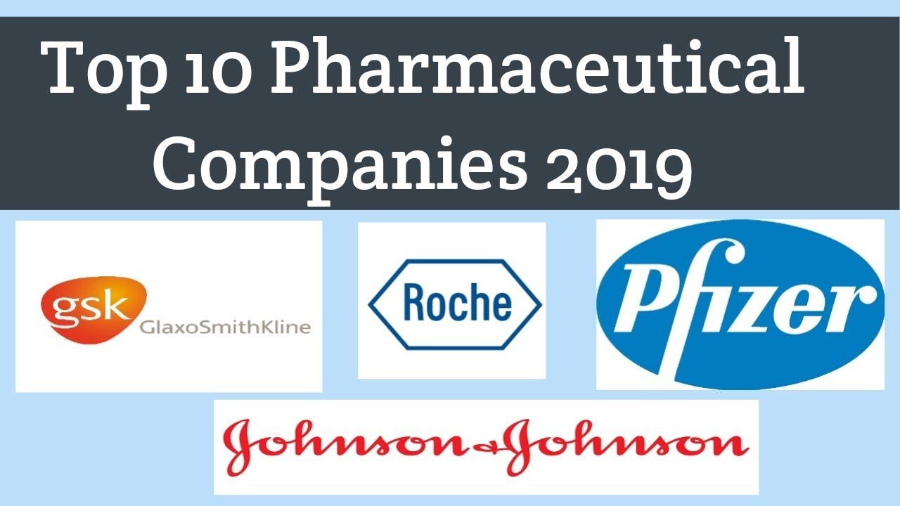 Top 10 Pharmaceutical Companies in world 2019 | Top Pharma company