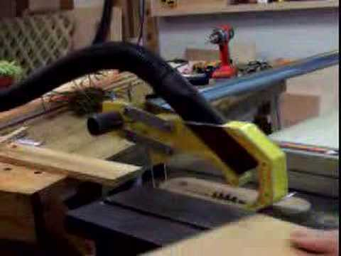 Shopnotes Table Saw Blade Guard Youtube