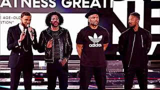The Roots fire NBA ALL STAR GAME INTRO ft. Jidenna, DMC, Michael B Jordan evolution of greatness