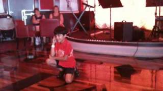 Akash All Izz Well Carnival Freedom Cruise Talent Show Bollywood Dance