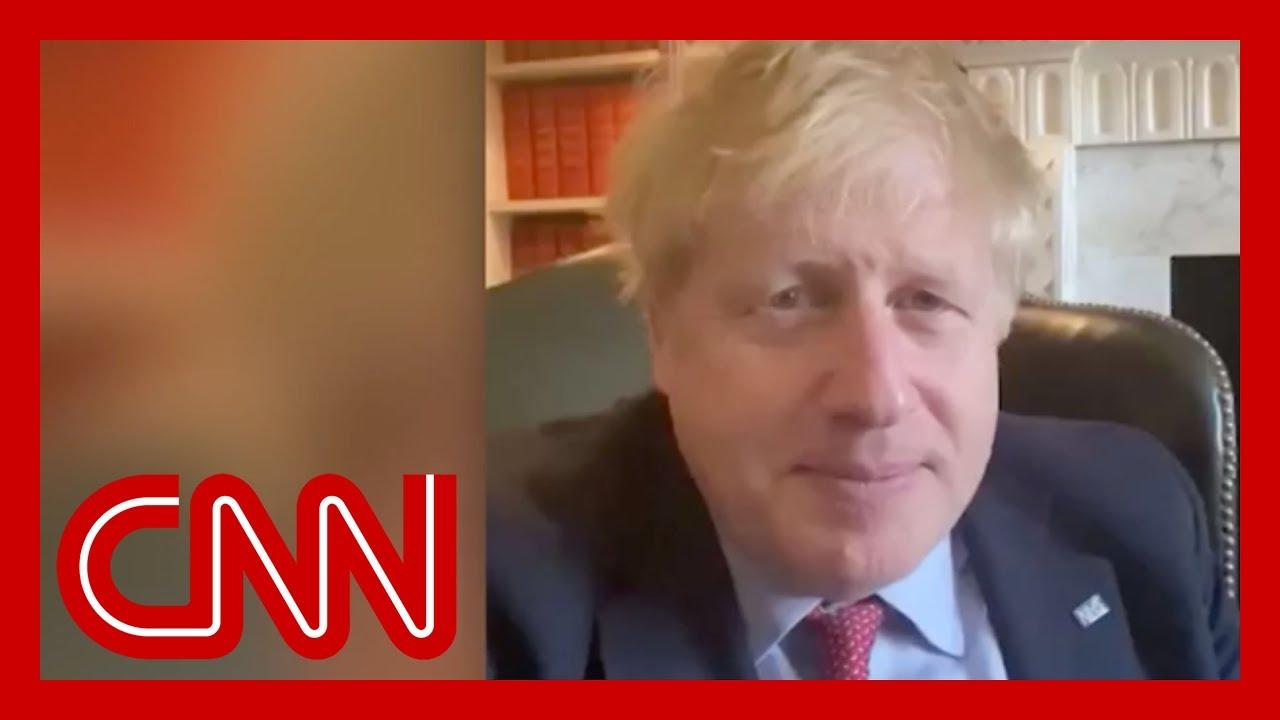 Boris Johnson confirms he tested positive for coronavirus