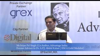 Inaugural Keynote: APJ Kalam's vision of India in 21st Century : IIMnetWORK @ Delhi Apr 2016