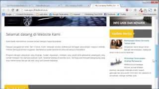 Tutorial Website : Mengelola Ucapan Selamat Datang Website Anda Mp3