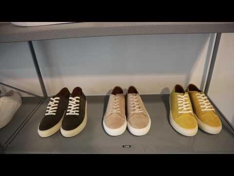 Garment project footwear brand
