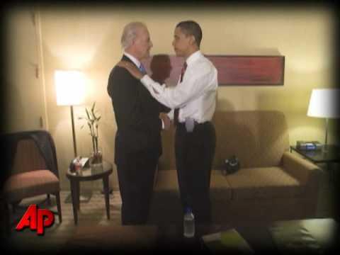 Raw Images: Obama on Election Night