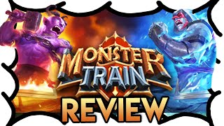 Monster Train Review (4 Min) | MrWoodenSheep (Video Game Video Review)