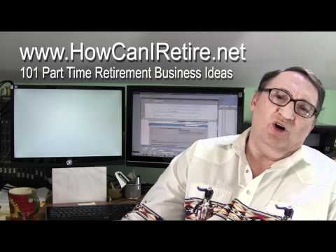 101 Part Time Retirement Business Ideas