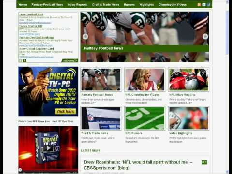 Established Automated Website For Sale – Fantasy Football On Tap