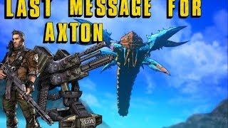 borderlands 2 message for axton commando son of crawmerax dlc