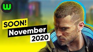 Top 10 Upcoming Games of November 2020