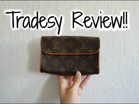 9d0f5c8f12fb Louis Vuitton Florentine Bag Tradesy Unboxing + Review - YouTube