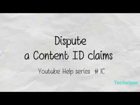 How to Dispute Copyright Claims in youtube 2016 | techelper | youtube  help series #10