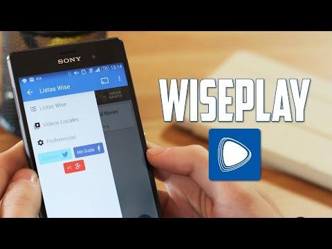 Wiseplay, reproduce vídeos en streaming
