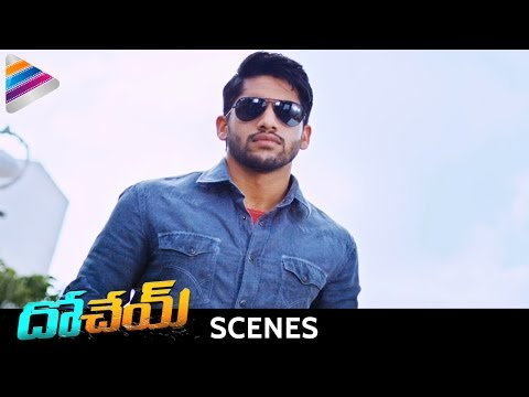 Naga Chaitanya Fights for Kriti Sanon | Dohchay Movie Action Scenes | Telugu Filmnagar