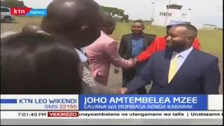 Gavana Hassan Joho amtembelea rais mstaafu Daniel Arap Moi