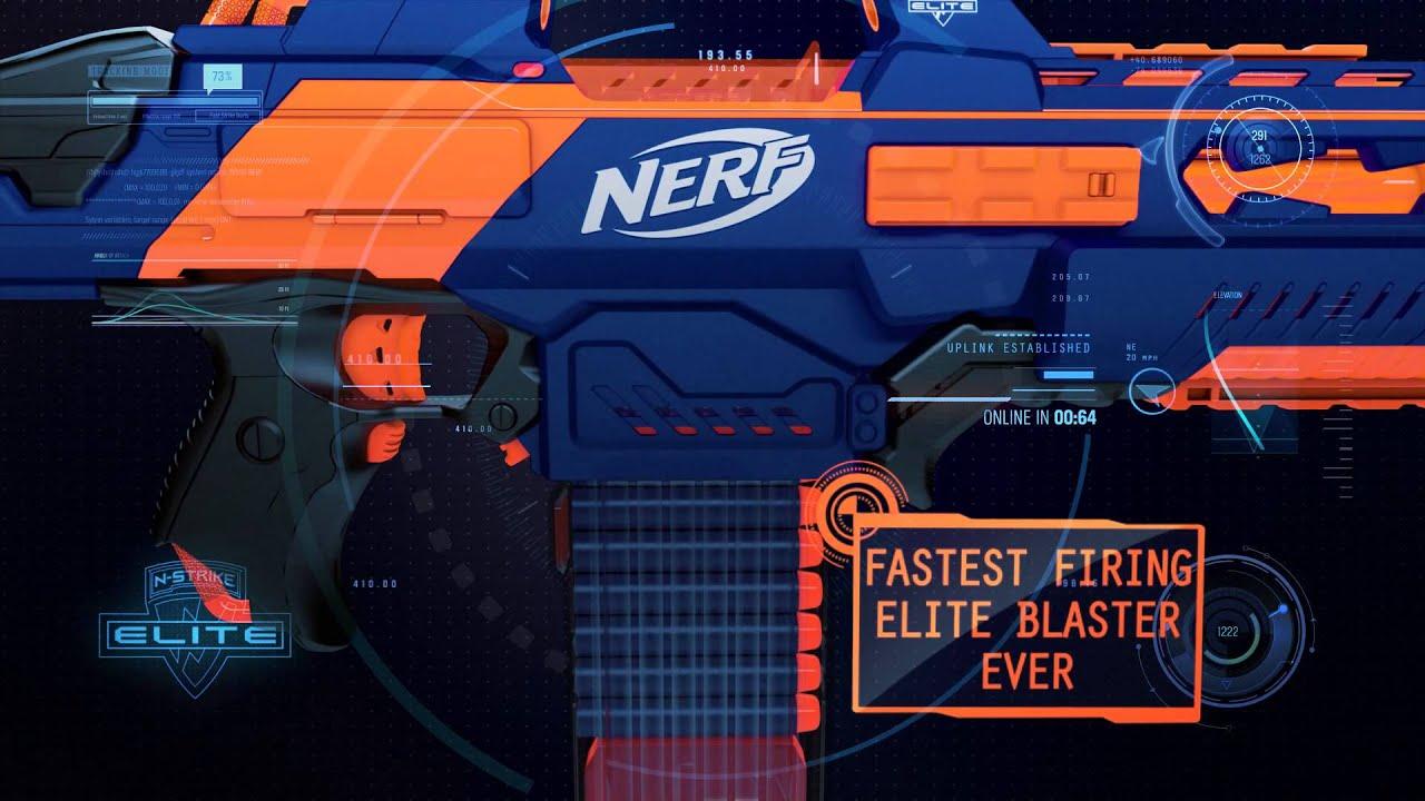 NERF N Strike Elite Rapidstrike CS18 Blaster at Toys R Us