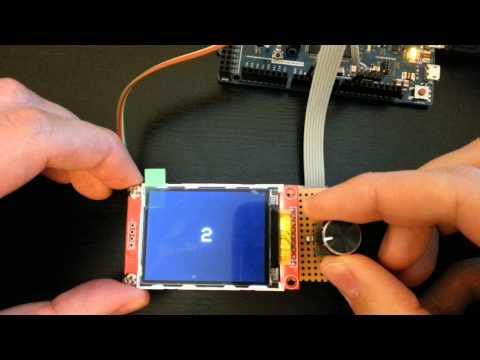 Arduino Due, Rotary Encoder & Ili9341 Ultra Fast Library