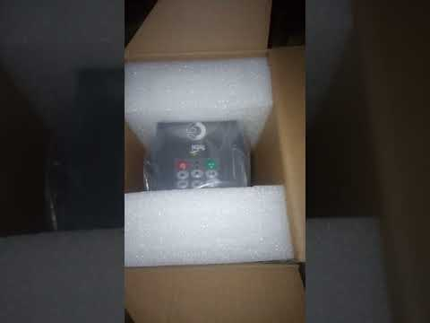 Unboxing Crompton Greaves (CG) 3HP Solar VFD . Contact Purchase Best Price +91-8875477757