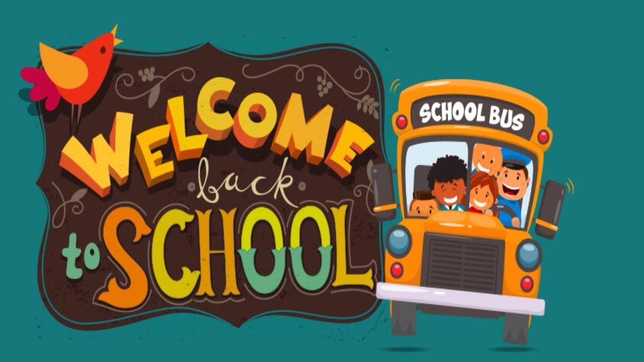 BACK TO SCHOOL ANIMATED CHARACTER - YouTube