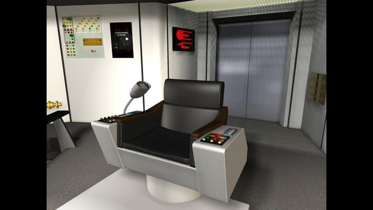 Star Trek TOS Enterprise Command Chair Build Part 7 YouTube
