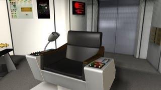 Star Trek Tos Enterprise Command Chair Build Part 7