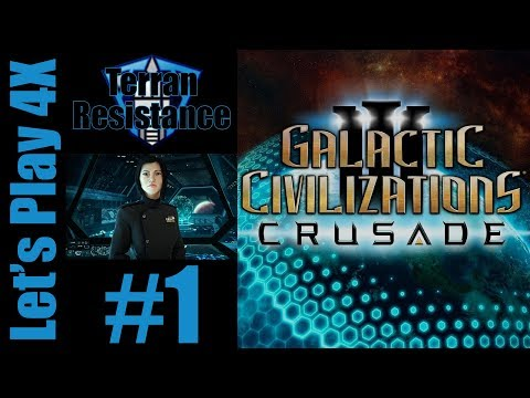 Let's Play 4X: Galactic Civilization 3 - Terran Resistance (Genius) - Part 1