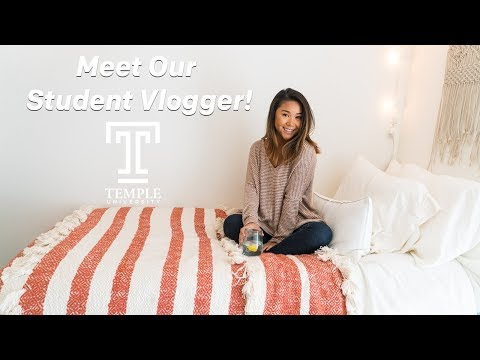Meet Temple's Newest Vlogger | Taylor Sison