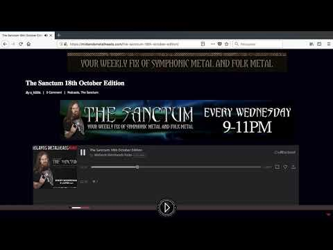 Opera Queen on Midlands Meatheads radio from United Kingdom
