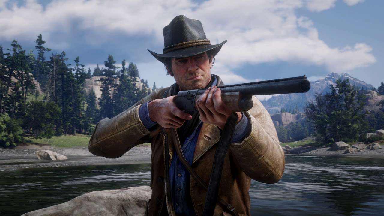 PS4《Red Dead Redemption 2》4K 遊玩解說影片 (中文字幕)