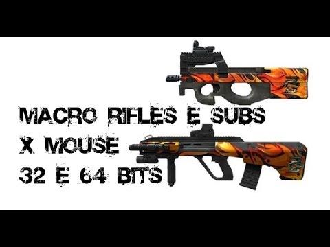 8070429e157 POINT BLANK- X mouse Macro P90 E AUG - YouTube