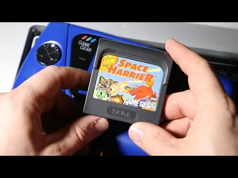 Classic Game Room - SPACE HARRIER review for Sega Game Gear