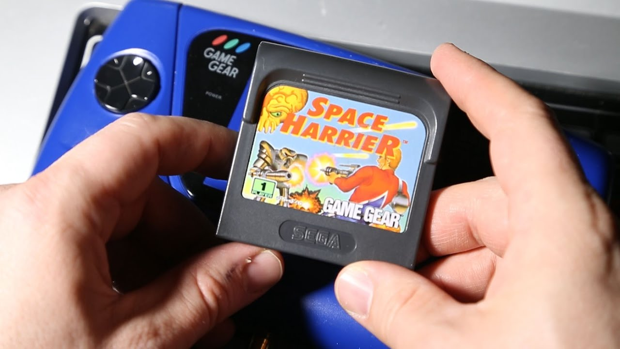 game gear colors : Classic Game Room Space Harrier Review For Sega Game Gear