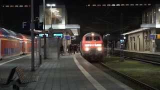 Bombenalarm - Ansage Bahnhofsräumung Lübeck Hbf 02.12.15