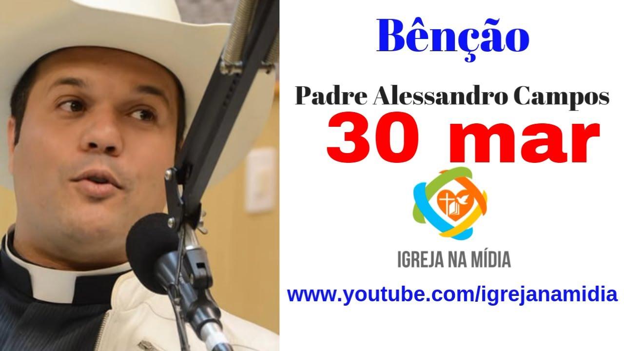 Receba agora a Bênção do Padre Alessandro Campos - O padre sertanejo do Brasil
