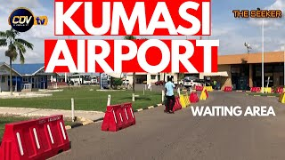 kumasi Airport Tour; Waiting Area; New Terminals under construction:Enjoy this Tour with the Seeker