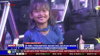 Arus Balik, 18 Ribu Lebih Pemudik Tiba di Stasiun Pasar Senen