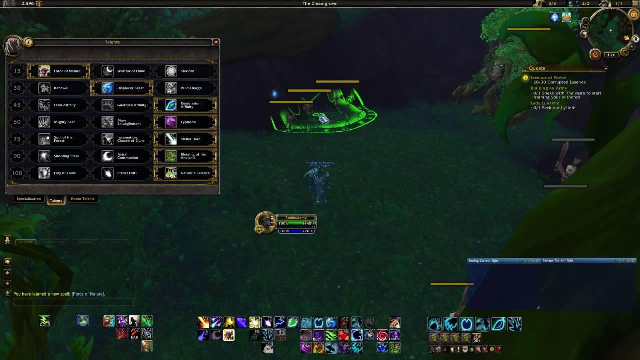 Balance Druid PvE/Raid Guide 7 0 3/7 1
