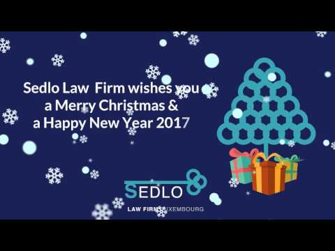 2016 Sedlo Law Firm Luxembourg - Christmas card