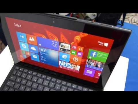 Nokia Lumia 2520 tablet hands-on