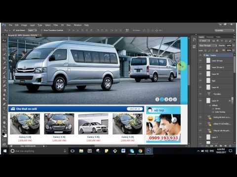 Hướng Dẫn Cắt Giao Diện Web Từ Photoshop Sang HTML CSS