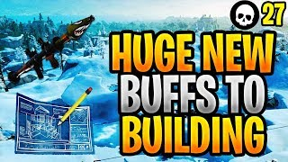 These New Buffs To Building Are HUGE... (Fortnite Building Changes - New Update 7.40)