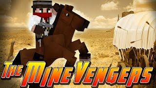 Minecraft MineVengers - TIME TRAVEL - WILD WEST BANDITS!