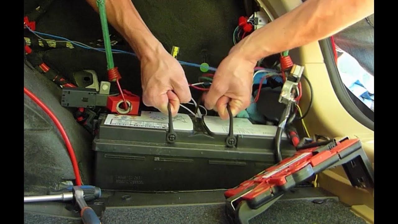 Comment Remplacer La Batterie Sur Bmw Serie 3 E90