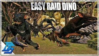 RIDING THE KARKINOS, EASIEST RAID DINO?!?- Ark Survival Evolved - Part 11 - Aberration