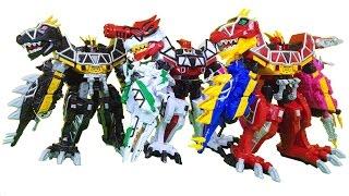 파워레인저 다이노포스 브레이브 티라노킹 블랙 티라노킹 가브리볼버 다이노셀 공룡합체 장난감 power ranger dinoforce braver toys