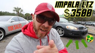 Car of the Week!!! Chevrolet Impala LTZ for $3500 CASH ( For Sale Condition Review ) CCV TV