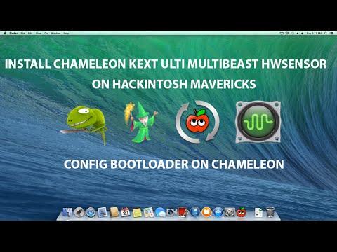 Install Kext Chameleon Multibeast HWmonitor Hackintosh Mavericks