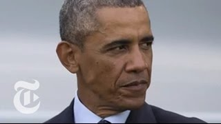 ISIS 2014 News: Obama's Case for Airstrikes in Syria | Times Minute | The New York Times