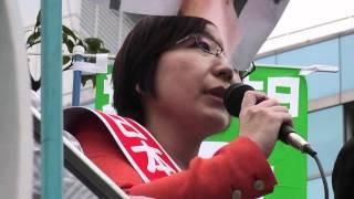 環太平洋連携協定(TPP)から日本の食・暮らし・命を守ろうと東京で4月25日に開かれた「国民集会」に呼応・連帯して、日本共産党が「党派...