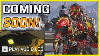 Apex Legends - Caustic is Getting a Town Takeover! New Audio Log Reveals Details in Season 8!
